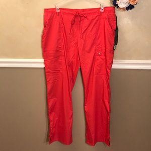 NWT Cherokee Luxe drawstring cargo scrub pants
